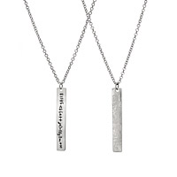 Love Equation Necklace