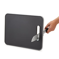 KNIFE SHARPENING CUTTING BOARD