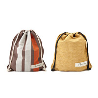 Hand Loomed Cotton String Backpack