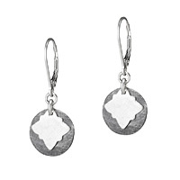 INKY VIGNETTE STERLING EARRINGS