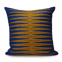Handmade African Wax Print Pillow