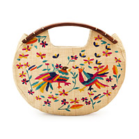Madagascar Hand Embroidered Bag