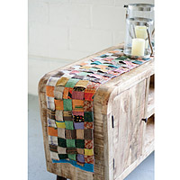 Recycled Kantha Table Runner