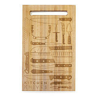KITCHEN KNIVES CUTTING BOARD