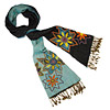 Hand Embroidered Reversible Scarf