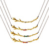 Personalized Gold Branch Family Necklace