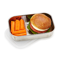 Food Container with Adjustable Divider