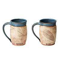 His or Her Woodland Mug
