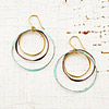 Trio Mixed Metals Earrings