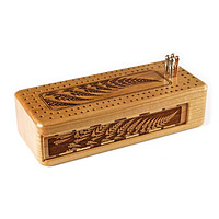 Fern Cribbage Board
