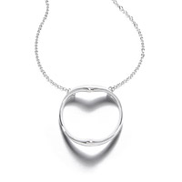 Shadow Heart Necklace