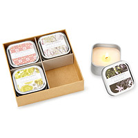 2 in 1 Body Lotion Candles Set of 4