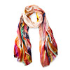 Painterly Feathers Scarf