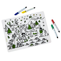 Counting Animals Coloring Placemat