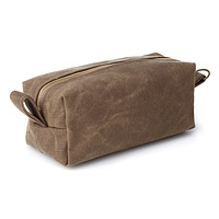 Large Waxed Dopp Kit