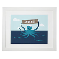 Personalized Eight Legged Sailor
