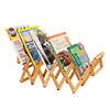 Accordion Magazine Rack