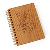 Do What You Love Wooden Journal