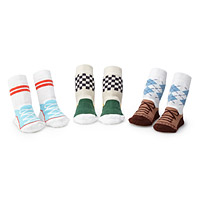 Boy Shoe Stay-Put Sock Set