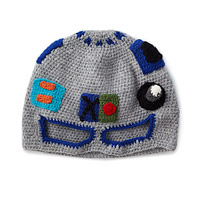 Robot Grey Wool Hat