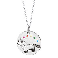 Unicorn and Rainbow Necklace