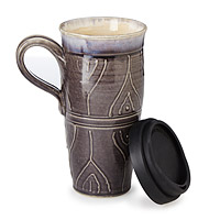 Stoneware Travel Mug