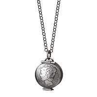 Mercury Silver Dime Locket