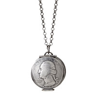 Lucky Quarter Locket