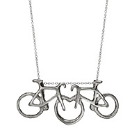 Love on Two Wheels Necklace