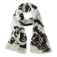 Dogs - Art Photo Print Scarf