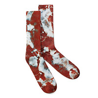 Tie Dye Bamboo Socks - Earth