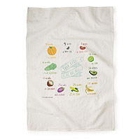 Growing Belly Tea Towel