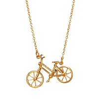 Wanderlust Bicycle Necklace