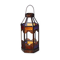 Moroccan Sunset Candle Holder