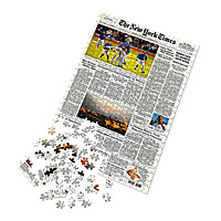 New York Times Custom Front Page Puzzle