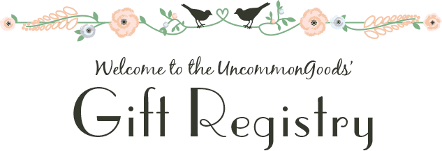 wedding bridal baby gift registry uncommongoods
